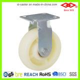 Castor de nylon pesado branco (P740-20F100X40)