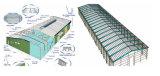 중국제 강철 구조물 외양간 (SSA-001)
