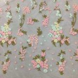 Nuovo merletto del Organza del ricamo di disegno per il vestito dalle donne di alta qualità