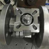 Valvola a sfera della flangia di BACCANO dell'acciaio inossidabile Pn16