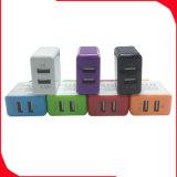 Chargeur portatif mobile de course des accessoires 2 USB de téléphone cellulaire