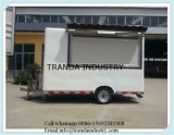 Pizza Truck Kitchen Van Cart Trolley del distributore automatico