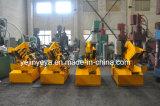 Cortadora de aluminio de acero del hierro hidráulico de la chatarra Q08-100
