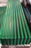 Feuille ondulée galvanisée plongée chaude de toiture de matériau de construction