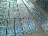 Tipo urgente galvanizzato scheda d'acciaio /Planks del foro dell'impalcatura per costruzione