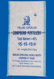 Pp. gesponnene Plastikbeutel des Düngemittel-50kg für das Verpacken