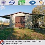 Sinoacme сегменте панельного домостроения в легких стальных структура складских работ