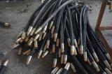 Boyau hydraulique 10mm en caoutchouc de la qualité En853 1sn 3/8