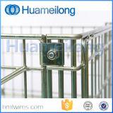 Industrielles Falz-stapelbares Geräten-Stahlspeicher-Rollenrahmen