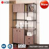 熱い販売の書庫の記憶の鋼鉄木の家具