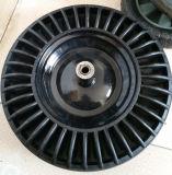 Cubo de basura usados en polvo de goma de la rueda
