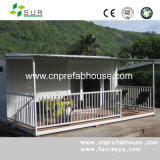 Casa de aço ondulada galvanizada do recipiente