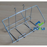 Gancho de bolso de fio de metal Gridwall (PHH107A)