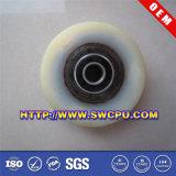 足車(SWCPU-P-W076)のための機械装置部品のプラスチックベアリング車輪