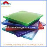 Heißer Verkaufs-freier Raum, farbiges 6.38-39.52 PVB lamelliertes Glas