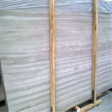 Мрамор вены плитки пола Китая красивейший старый серый деревянный