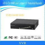 Registrador compacto del CCTV 1u de Penta-Brid 1080P Lite del canal de Dahua 16 (XVR5116HS)