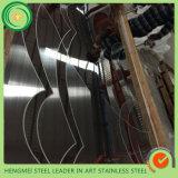 304 Venda Quente Barato preço Entalhe em metal para decoração de Aço Inoxidável