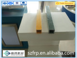 Pultrusion стеклоткани трубы пробки стеклоткани подкрепления пластичным прямоугольным усиленный стеклянным волокном пластичный профилирует профили Pultruded стеклоткани