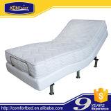 マッサージ機能の寝室の家具の電気ベッドの調節可能なベッド