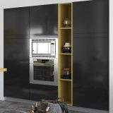 広州の製造業者の現代ラッカー木モジュラー食器棚(OP15-L06)