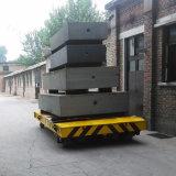De Installatie die van het cement het Gemotoriseerde Voertuig van de Overdracht met behulp van dat van het Leiden van Spoorwegen wordt aangedreven