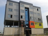 Costruzione d'acciaio prefabbricata del condominio di Strcuture