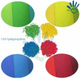 Unterschiedliches Farben-Polypropylen-Spinnen-Geklebtes nichtgewebtes Gewebe