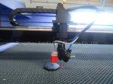 CO2 doppelter Kopf-Laser-Stich und Ausschnitt-Maschine