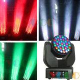 Китай производитель 37X3w RGB LED перемещение светового пучка освещения сцены головки блока цилиндров