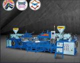 PVC de três cores/TPR Strip Máquina de Moldagem Superior