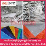 Tela incatramata del PE, materiale della tenda, coperchio di plastica esterno impermeabile, poli tela incatramata blu, tessuto dell'HDPE