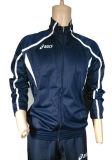 Le plus défunt modèle folâtre le survêtement 100% de sport d'hommes de polyester de trainings