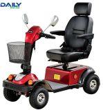 セリウムのハンディキャップ4の車輪のハンドルブレーキおよび電気ブレーキが付いている電気移動性のスクーター