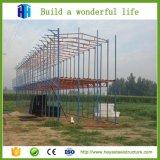 가벼운 강철 구조물의 대중적인 Prefabricated 큰 경간 주택 건설