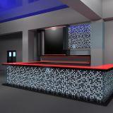 Top de recepção de pedra artificial, recepção de hotel de superfície sólida