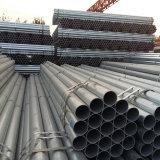 Pipe en acier galvanisée par qualité pour faire des meubles