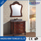 高品質の固体木の時代物の家具の浴室用キャビネット