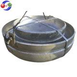 Tête elliptique (principale) d'extrémité de plat d'approvisionnement de marina