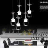 LED-hängende Lampen-Gaststätte Grystal Kugel-hängende Lampe