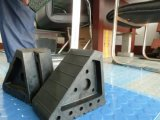 Gemakkelijk installeer het het de Zwarte Wig van de Auto/Blok van het Wiel/Blok van de Buffer/de RubberKurk van de Auto