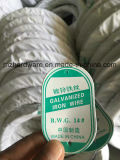 Electro бандажная проволока оцинкованной стали Bwg12-Bwg22