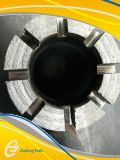 Morceau de foret de faisceau de diamant de profil de W pour le perçage de hard rock