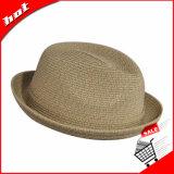 도매 고품질 여름 파나마 모자 밀짚 모자 중절모 모자
