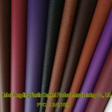 Cuoio del PVC del cuoio sintetico del PVC del cuoio della valigia dello zaino degli uomini e delle donne di modo del cuoio del sacchetto del fornitore Z089 di certificazione dell'oro dello SGS