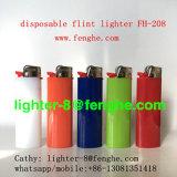 Como encendedor de gas desechable más grande para el cigarrillo y la promoción Fh-208