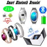 心拍数および血圧のモニタ(Z18)が付いているIP65 Bluetoothのブレスレット