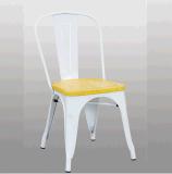 의자를 식사하는 싼 산업 쌓을수 있는 Retro 다방 포도 수확 철 금속