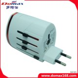 Adaptateur universel Universal Multi Plug 2 USB Travel Wall Charger