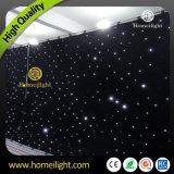 Огнеупорные шторки LED Star шторки /LED Star ткань для свадьбы